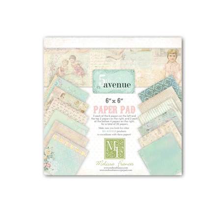 "5th Avenue Paper Pad 6""X6"" 32 Sheets"