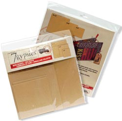 "7 Gypsies Book Boards Multi Pack 6""X6"", 8""X8"", 12""X12"""