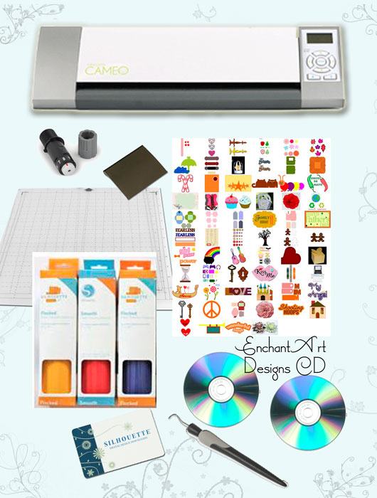 Silhouette Cameo Heat Transfer Bundle
