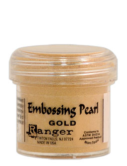 Ranger Embossing Pearls Powder Gold Pearl
